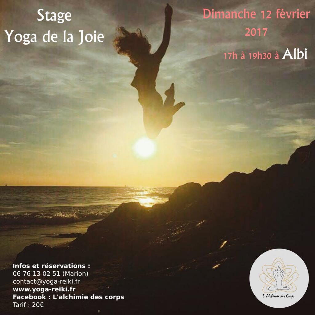 Stage yoga de la joie Albi