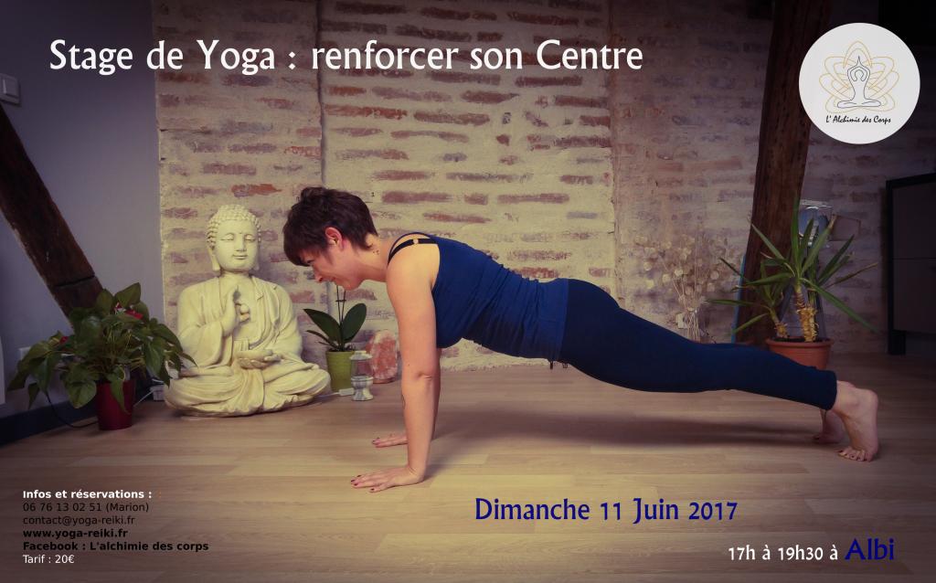 Stage Yoga Albi Renforcer Son Centre