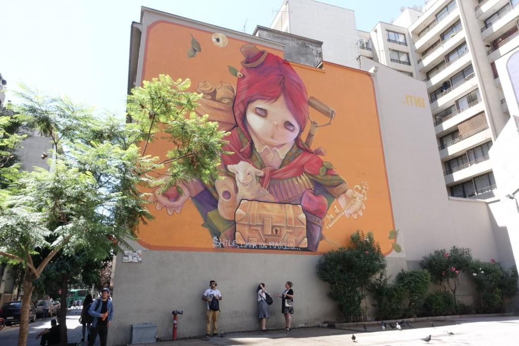 Voyage Chile street art 2