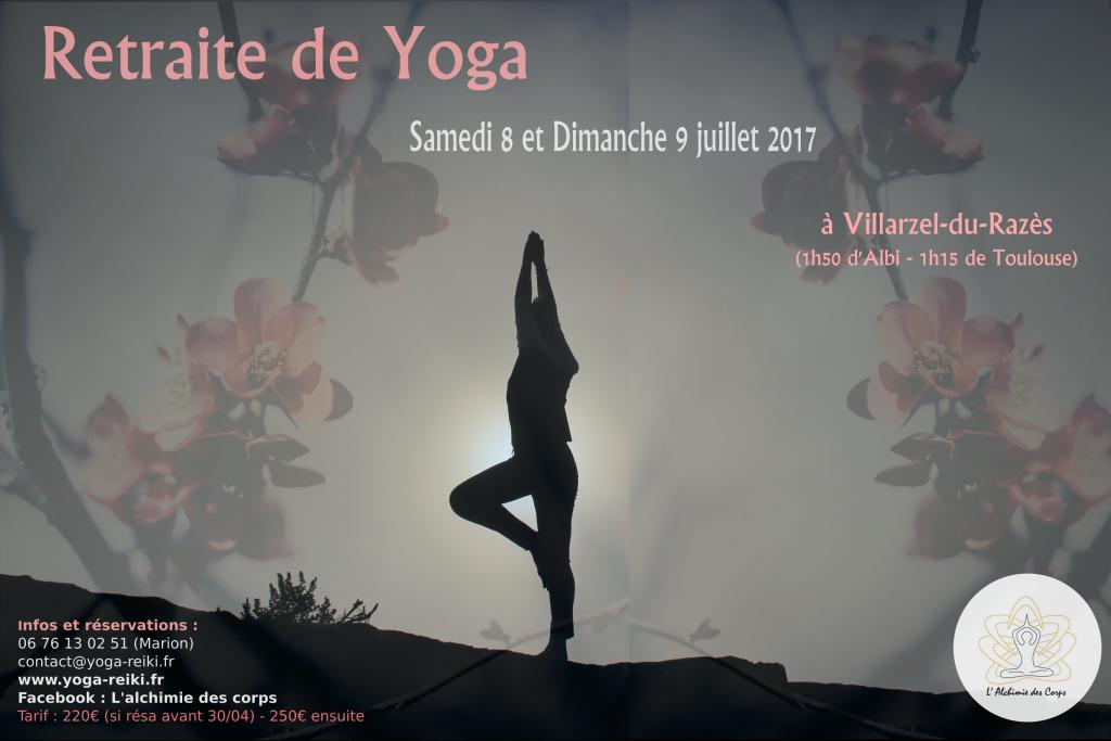 Retraite Yoga Toulouse Aude Midi Pyrénée