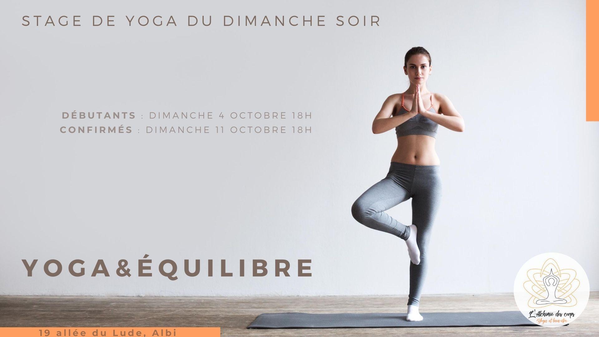 yoga et equilibre